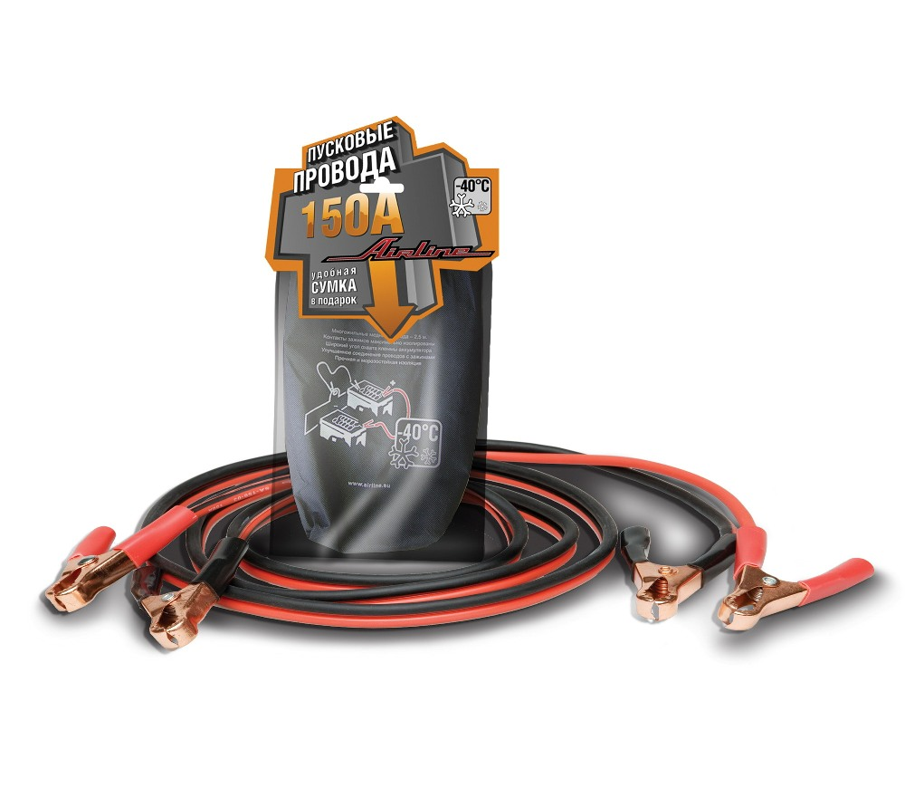 Провода прикуривания 150 А SA-150-03
