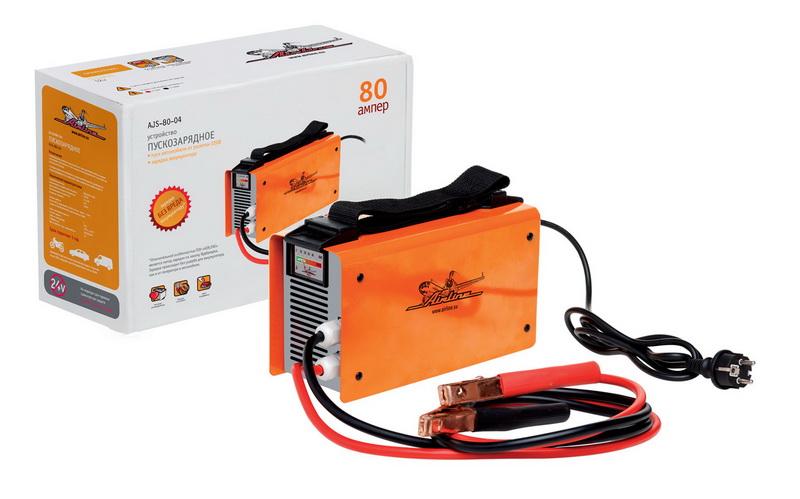 Пускозарядное устройство 80 А. AJS-80-04