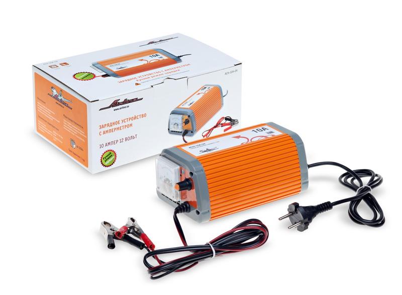 Зарядное устройство 10А 12В, амперметр, ручной режим ACH-10A-04