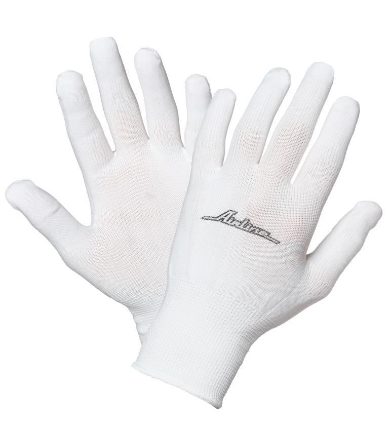 Перчатки нейлоновые (без покрытия) AWG-NS-12