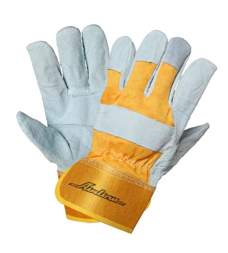 Перчатки спилковые AWG-S-06