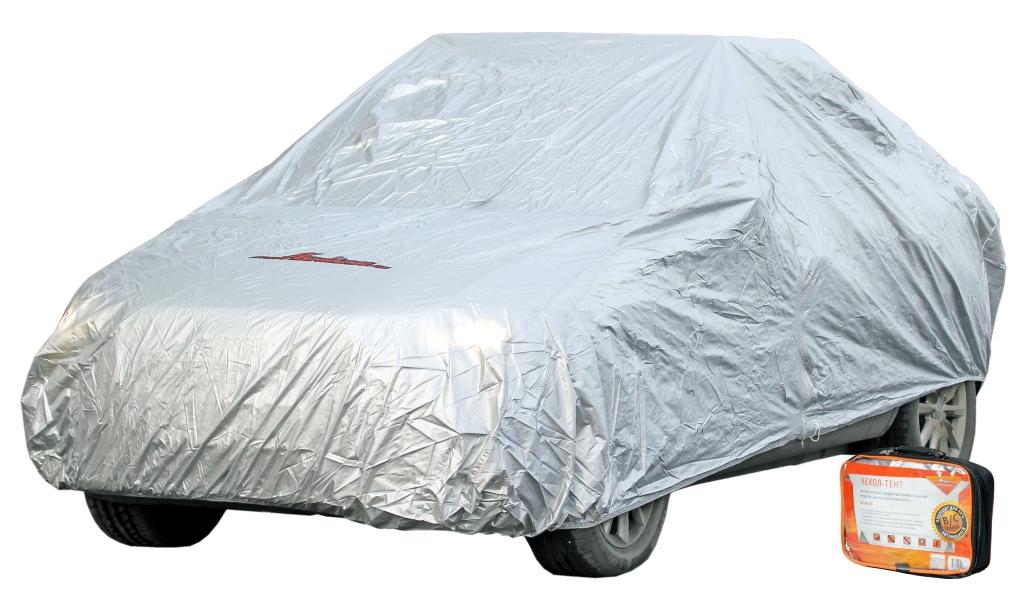 Чехол-тент на автомобиль защитный с молнией для двери, L AC-FC-03