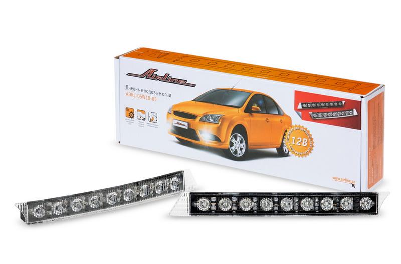 Дневные ходовые огни 0,5 Вт х 18 LED ADRL-05W18-05